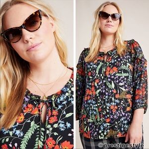 NWT ANTHROPOLOGIE Maeve Jacquin Peasant Blouse